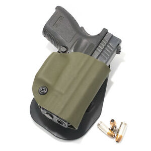 Kahr, Kel-Tec, Kimber - OWB KYDEX PADDLE HOLSTER (MULTIPLE COLORS AVAILABLE)