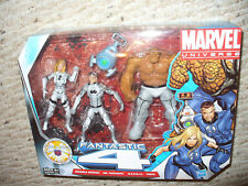 "Marvel Universe  3 3/4"" Figure Pack - Fantastic 4 - White Future Foundation"