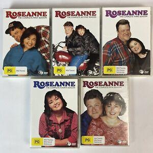 ROSEANNE DVD COMPLETE SERIES SEASONS 1-5 Region 4