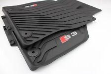 Original Audi A3 S3 Allwettermatten Gummimatten Fußmatten vorne