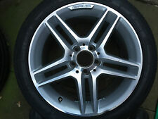 "GENUINE OEM AMG MERCEDES BENZ C CLASS W204 S204 17"" REAR ALLOY WHEEL A2044012400"