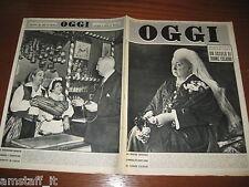 OGGI=1951/39=QUEEN VICTORIA=PAOLO MAZZA SPAL=LOUIS ADAMIC=BERNARD BARUCH=