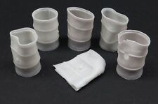 Reality In Scale 35008 crushed & dented fuel drums 1:35 resin diorama accessory