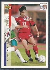 UPPER DECK WORLD CUP USA 1994- #224-SOUTH KOREA-GU SANG-BUM
