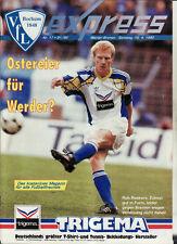 BL 91/92 VfL Bochum - SV Werder Bremen
