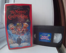 The Muppet Christmas Carol - starring Michael Caine and The Muppets VHS Video