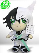 BIG 30CM 12'' Bleach Ulquiorra Plush Stuffed Doll Black White BLPL8002