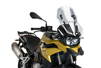 PUIG WINDSHIELD ADJUSTABLE BMW F750 GS 18-20 CLEAR