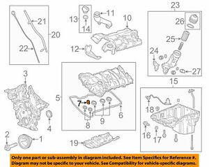 Engine Valve Cover Gasket Seal Chevrolet Colorado 17 - 21 GM OEM 12613249
