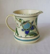 Honiton Pottery Rare Woodland Leaping Deer Posy Ring Vase Post Collard In Many Styles Pottery, Porcelain & Glass
