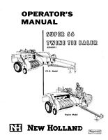 New Holland 66 Baler Operators Manual