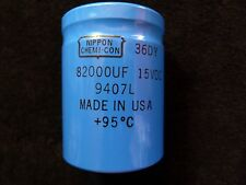 82000uF 15 VDC Large Can Electrolytic Aluminum Capacitor Screw Thread Axial