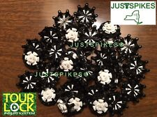 14 New PULSAR Tour Lock (Fast Twist) Golf Spikes Cleats Softspikes Justspikes