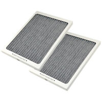 2-Pack HQRP Refrigerator Carbon-Activated Air Filter for Electrolux 242047801