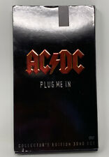 AC/DC - Plug Me In (DVD, 2007, 3-Disc Set, Deluxe Edition) NTSC Nice Condition