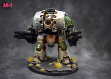 Warhammer 40k Death Guard Nurgle Leviathan dreadnought Forge World M1 painted