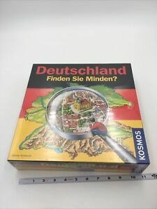 Sealed New Kosmos Game Deutschland Germany 2007 Board