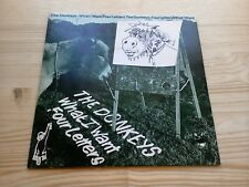 """The Donkeys What I Want Four Letters EX 7"""" Single Vinyl Record GOAPE2 P/S Porky"""
