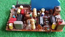 Platine mit IC BAUSTEINEN TBA520 TBA530 TBA540 + QUARZ 4,433618Mhz Bastler 24649