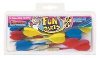 Harrows Fun Darts 3 Sets of Steel Tip Darts with Colour Coded Flights Pub