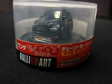 Penny Racer Black Mitsubishi Lancer Evolution X  Wonda Coffee Choro-Q TOMY NEW