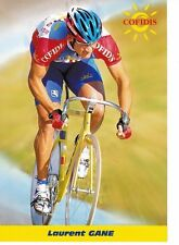 CYCLISME carte cycliste LAURENT GANE équipe COFIDIS 1999