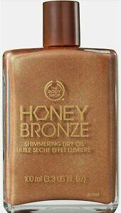 Body Shop Honey Bronze Shimmering Dry Oil 100ml - 02 Golden Honey