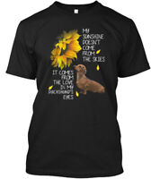 Dachshund Sunshine Hanes Tagless Tee T-Shirt