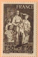 1943 - TIMBRE FRANCE NEUF** FAMILLE DU PRISONNIER - STAMP - Yt.585
