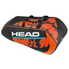 Head Radical Supercombi 9 Pack Racquet Bag (Black/Orange)