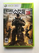 Gears of War 3 (Xbox 360, 2011) Complete With Manual And Stickers