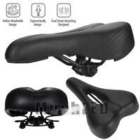 Comfort Wide Big Bum Bike Bicycle Gel Cruiser Sport Soft Pad Saddle Seat