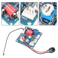 DC 12V PWM 4-Wire Fan Temperature Controller Speed Governor for PC Fan/Alarm