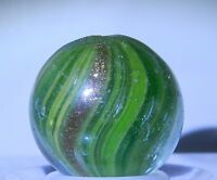 5580m German Handmade Onionskin Lutz Vintage Marble .58 Inches