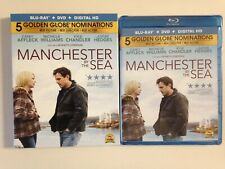 Manchester by the Sea (Blu-ray/DVD, 2017, 2-Disc Set,)(NEW)