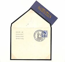 Ms3216 1957 Go Parliament FDC Official * House of Commons * Embossed e RARE UNIQUE?