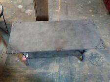 Industrial Coffee Table, Rustic Distressed Finished