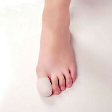 2 Pcs Soft Silicone Big Toe Caps Foot Care Protector Cushion Corns Pain Relief