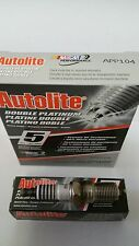 Pack Of 4 Autolite APP104 Spark Plugs Double Platinum