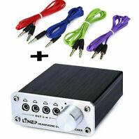 NEW 4 Input 4 Output Headphone 3.5mm MP3 Audio Signal Switcher Digital Multi-CH
