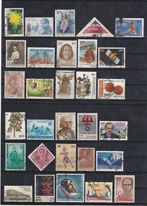 Wide Range India  Stamp Mix Wide Range As Per Scans (3 Scans)