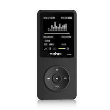 "MP3 Music Player 8GB with 1.8"" Screen 70h HQ Sound Supports up to128 GB Micro SD"