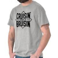 Cruisin For A Bruisin Sarcastic Nerd Graphic Mens T-Shirts T Shirts Tees Tshirt