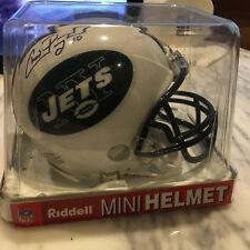 Chad Pennington Signed NY Jets Mini Helmet Autograph