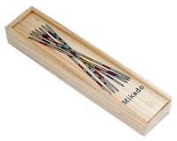 Mikado Spiel de viaje juguete de madera juego inteligencia habilidad