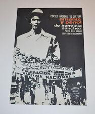 Cuban Theater Poster Art.Home or Room Decoration.Amante y Penol.Puerto de Habana