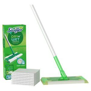 Swiffer Sweeper Starter Kit, (1 Mop Kit, 10 Pad Refills)