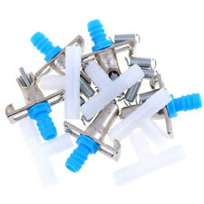 5pcs Double spring Automatic Nipple Water Feeder Drinker Waterer For Rab lsLDZT