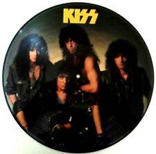 EX/EX KISS CRAZY NIGHTS 1987 PICTURE DISC VINYL LP