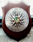 Wooden Medal of Italian Coast World Compass